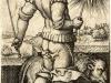 Die 7 Planeten: Sol, Leo, Löwe. Tierkreiszeichen des Juli (Signs of the Zodiac July), 1520-1550