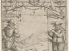 Frontispice d\'un livre d\'escrime, 1618