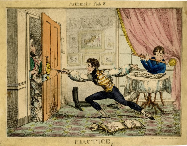 Photo An enthusiastic young man practising fencing at a