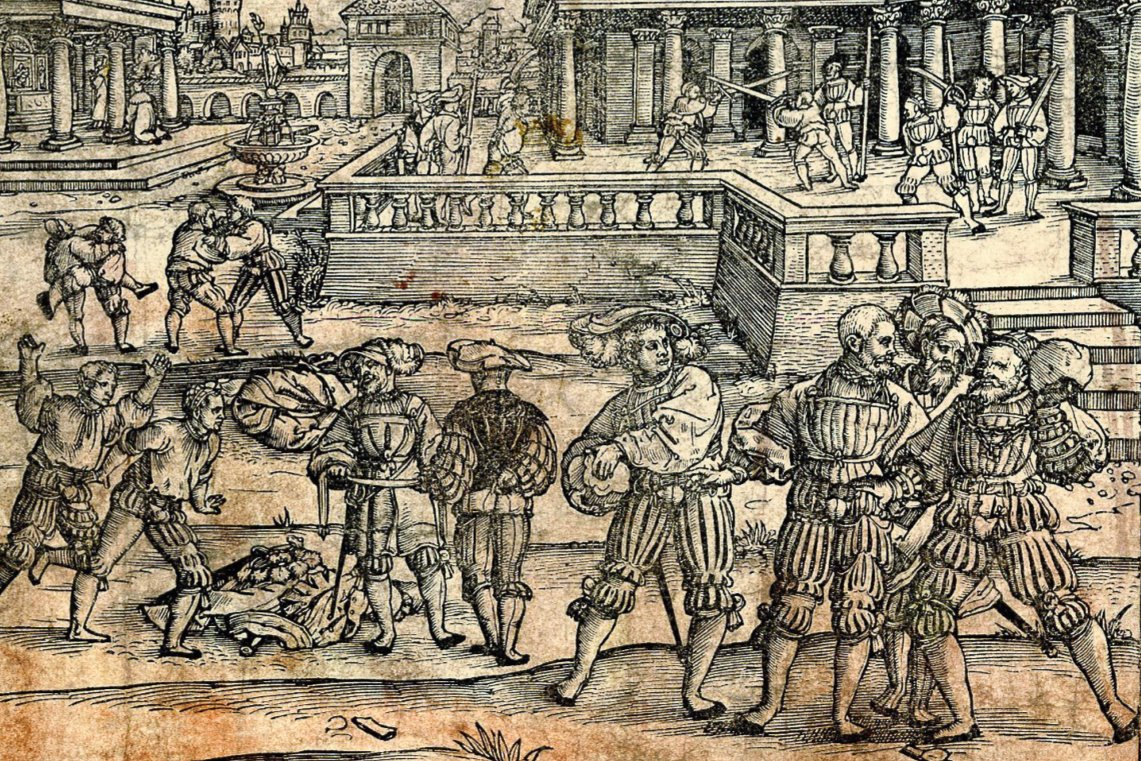 Photo Detail from Planetenkinder, ca 1540 by Beham Grapp
