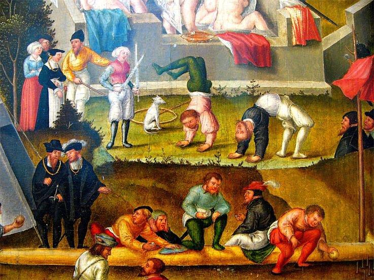 Photo Die Melancholie im Garten des Lebens, Detail 1558 - 203112056394948