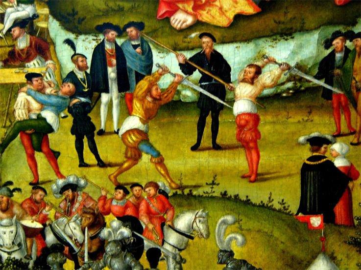 Photo Die Melancholie im Garten des Lebens, Detail 1558