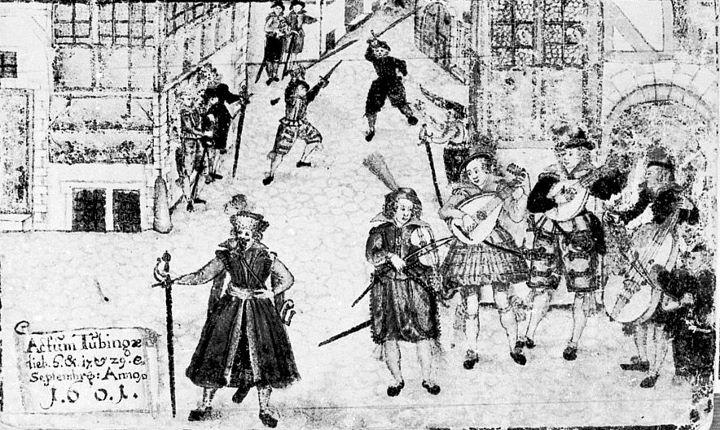 Photo From the Weckherlin Stammbuch 1601