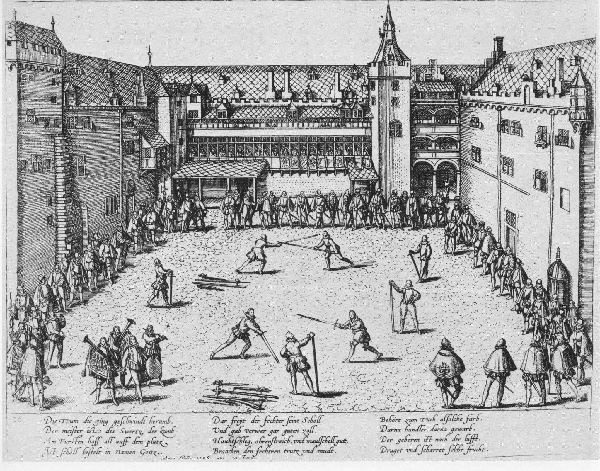 Photo Fürstlich Jülicher Hochzeit am Düsseldorf 1585 Die