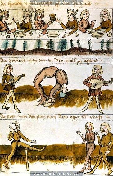 Photo Heinrich von Veledek Muzizieren 1474