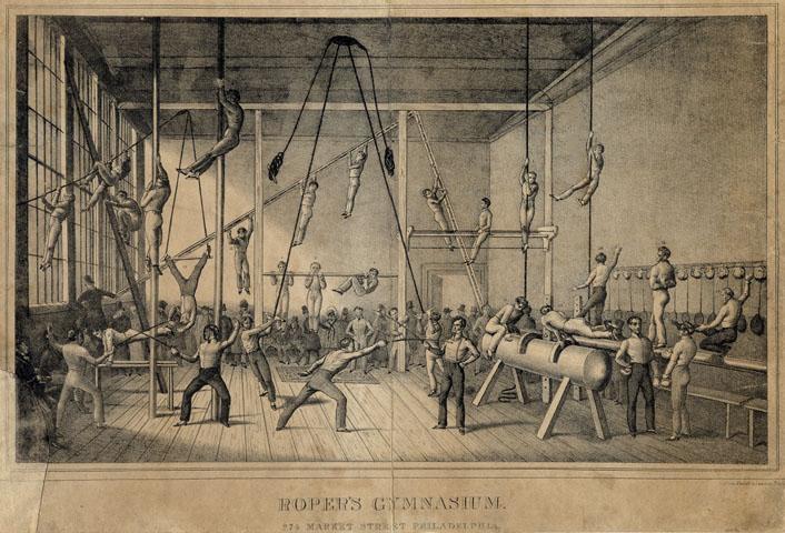 Photo Roper s Gymnasium 1831