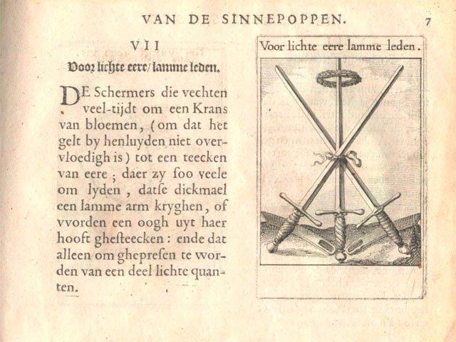 Photo SINNEPOPPEN van ROEMER VISSCHER 1614 De Schermers