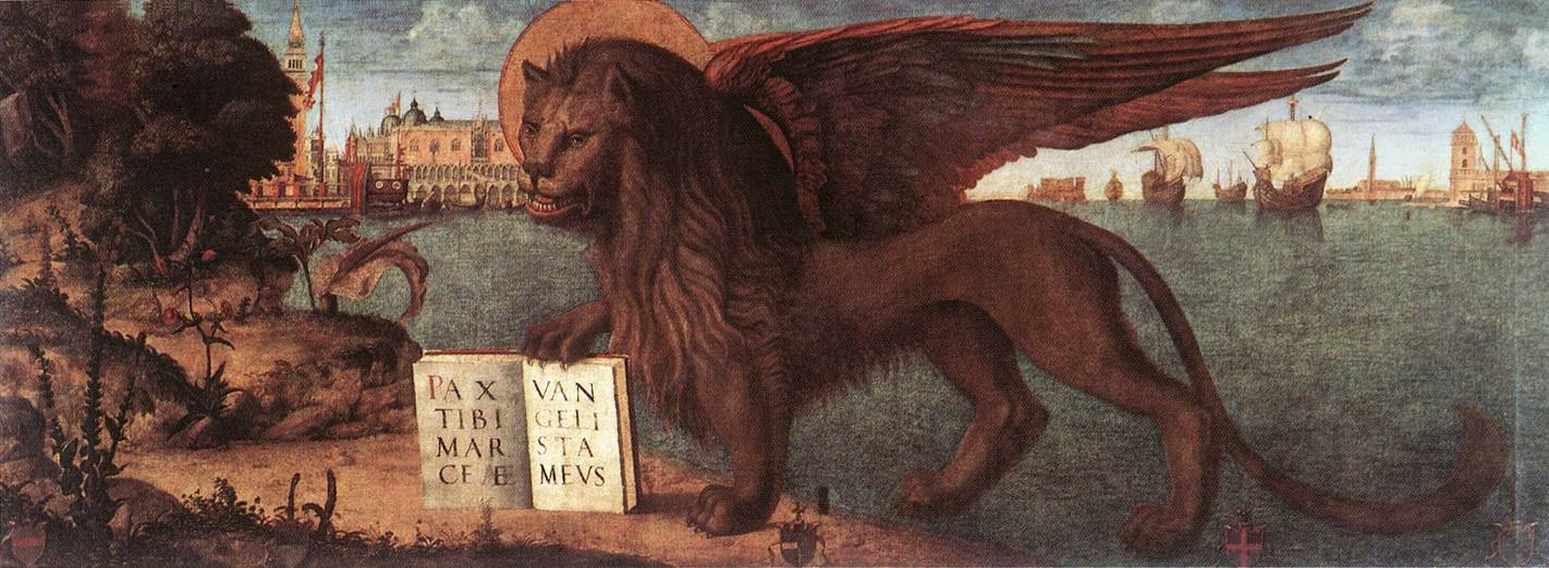Photo The Lion of St Mark 1516