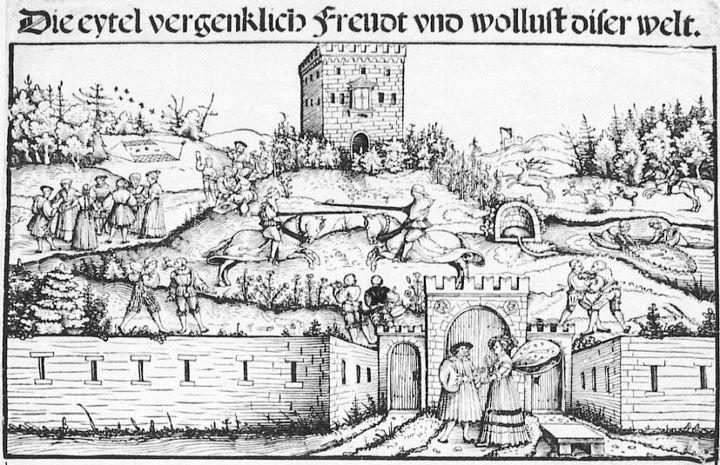 Photo Turnier am Rechenburg bei Nürnberg - Detail Erchar