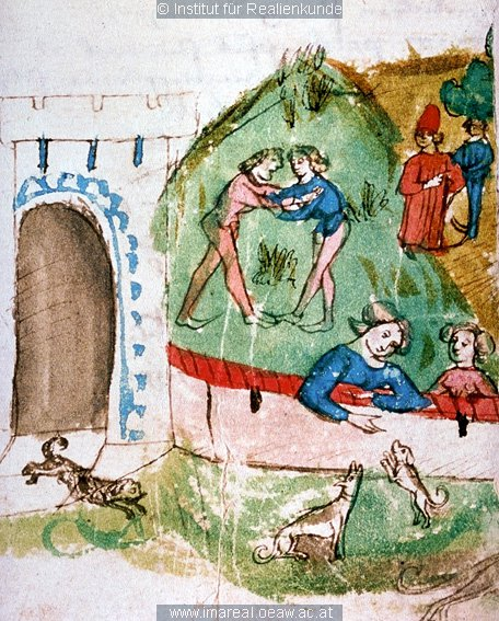 Photo Unterhaltung am Hofe König Altistrates 1467 Appolo