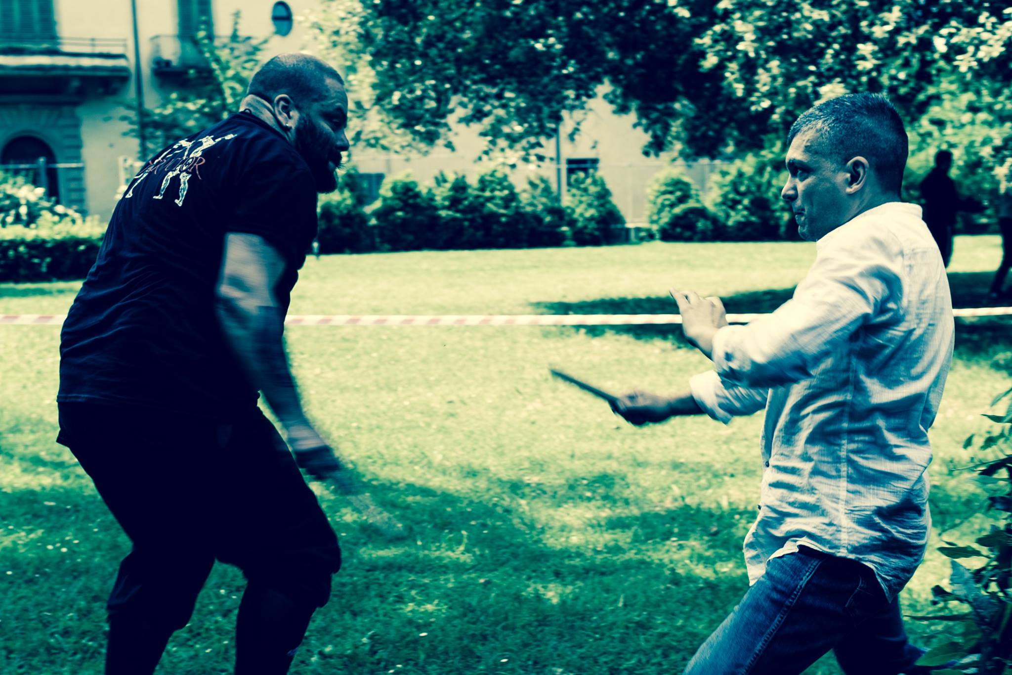 The point of sparring