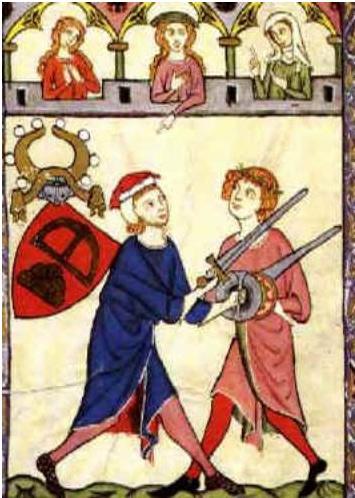 תוצאת תמונה עבור codex manesse