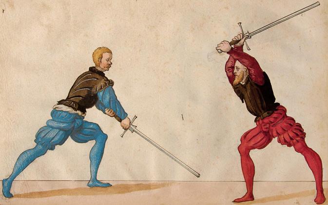 From the Jörg Breu Sketchbook of 1545.