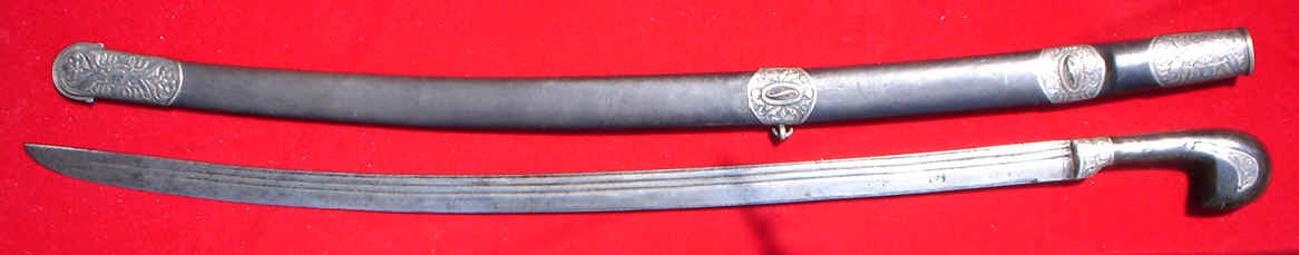 An example of the shaska, a type of Russian cavalry sabre