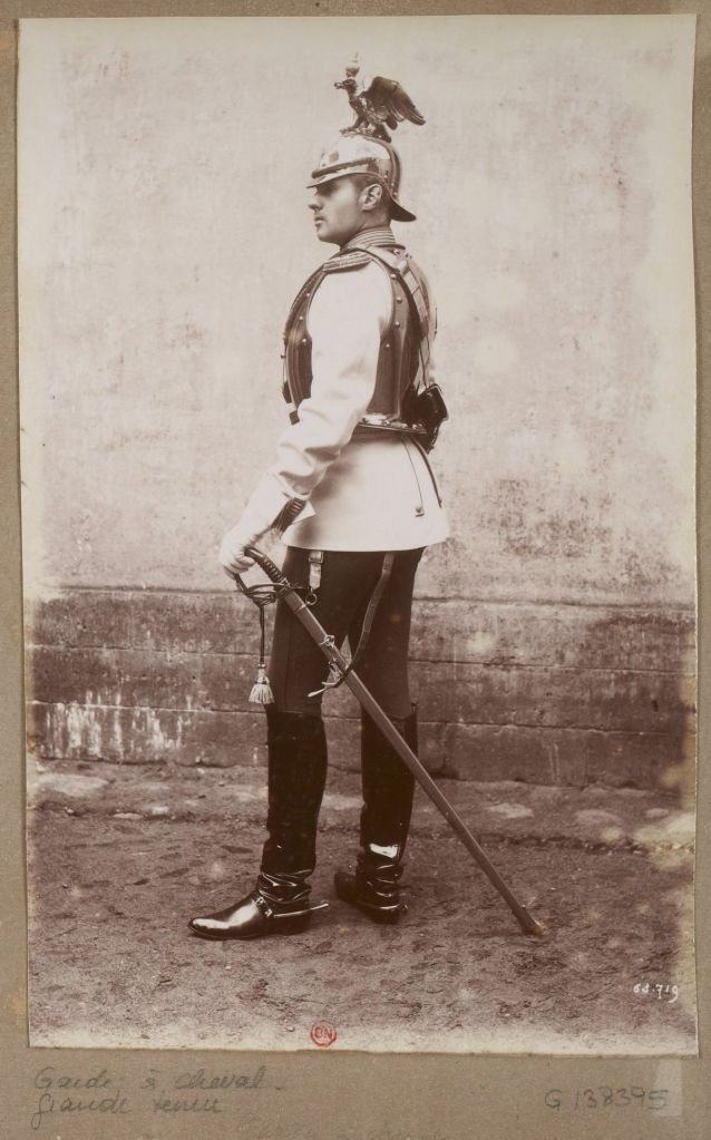 A cavalryman of the Russian Imperial Guard