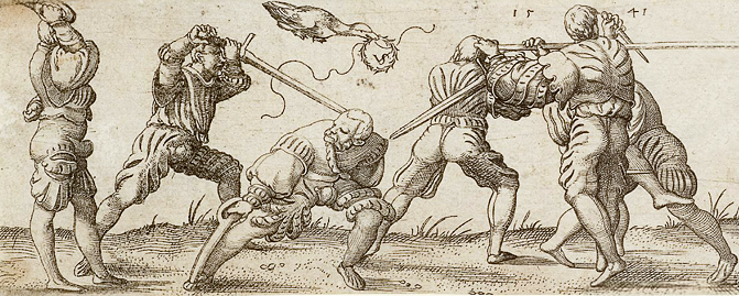 Zornhut as illustrated by Virgil Solis in 1541