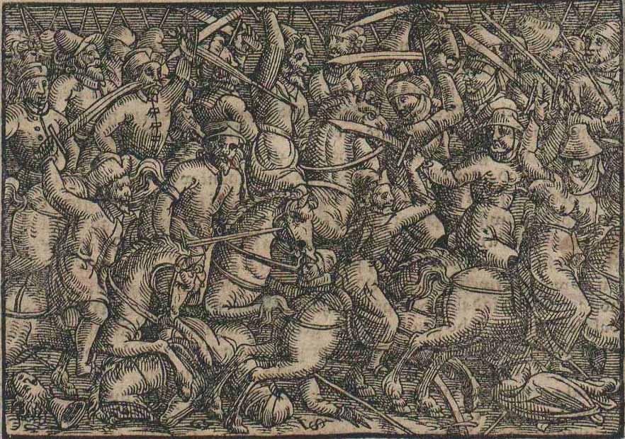 Hungarian Battle against Turk XVI century