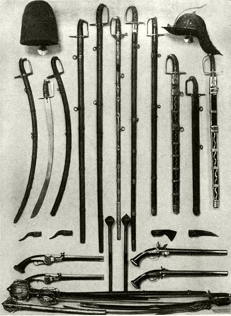 Polish- Hungarian Arms and armour 1662