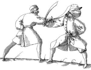 Gunterrodt-Heinrich-von-Manuscript-scimitar-1579