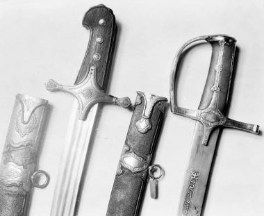 Sabres from National Museum in Krakow (The Saber's Many Travels (The Origins of the Cross-Cutting Art))