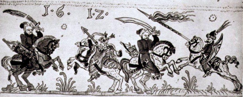 Polish Hussar, Turk and Magyar