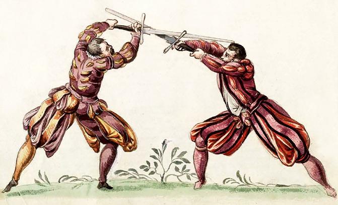Fechtschwerter from Joachim Meyer's von Solms' treatise.