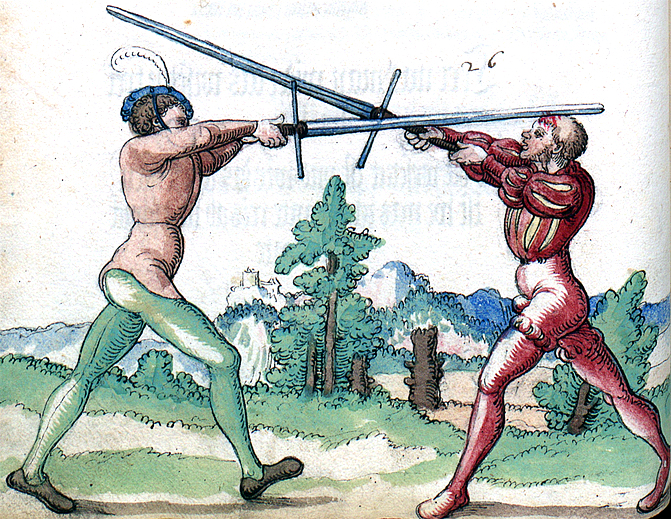 "From the ""Goliath"" Treatise of ca 1510-20."