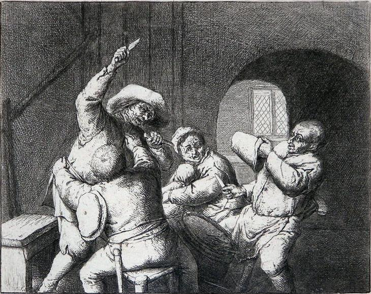 Peasants fight