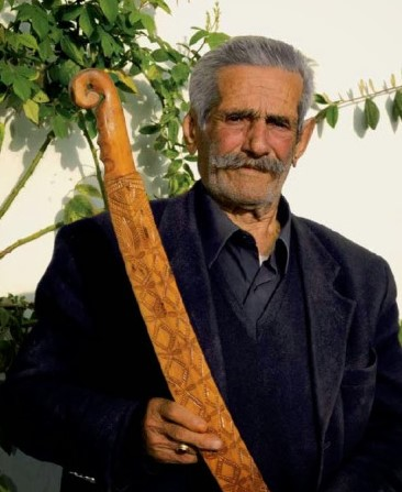 John Polychronakis was one of the last sword staff makers.