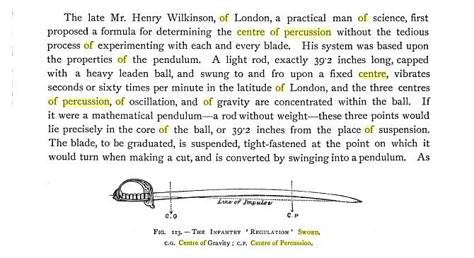 From Richard F Burton's Book of the Sword, 1884