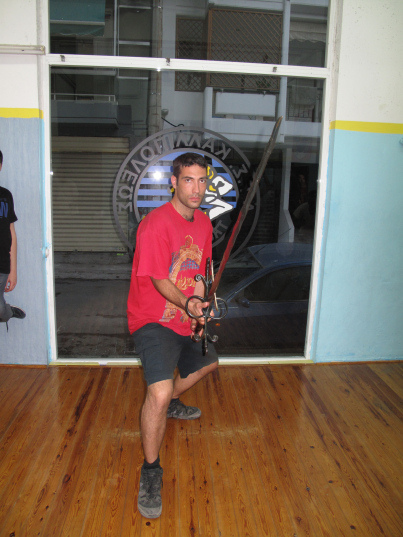 Lesson with Flammenschwert at the Hellenic Academy of Historical European Martial Arts