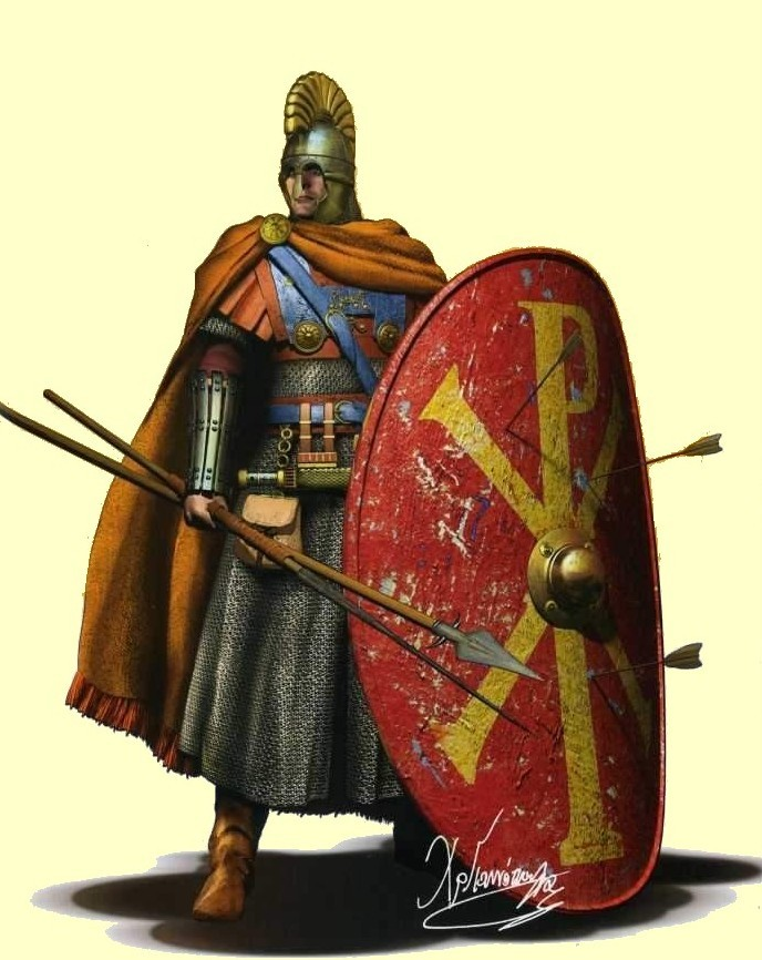 An Eastern Roman Champion, at the reign of emperor Justinian the Great.