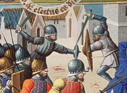 The secret, dangerous military life of medieval superstars,