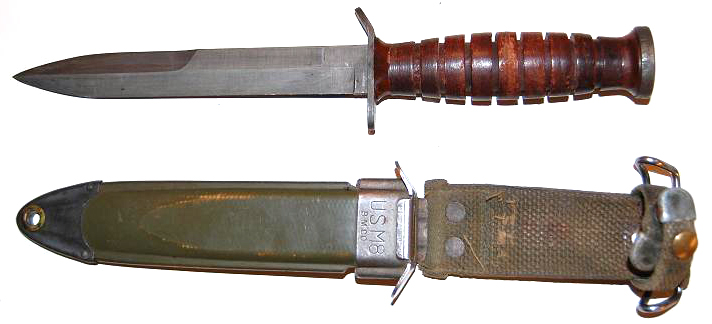 US Army M3 Fighting Knife with M8 scabbard