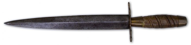 Plug bayonet from early 1700s