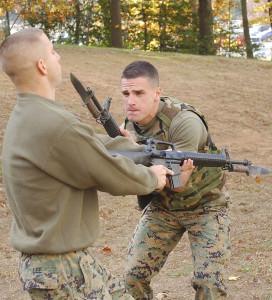 Marines with the OKC-S3 Bayonet