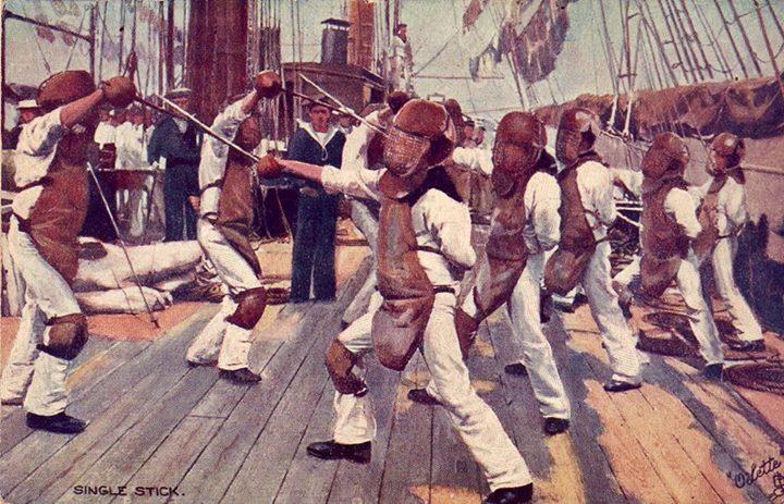 British Navy Singlestick ca 1900