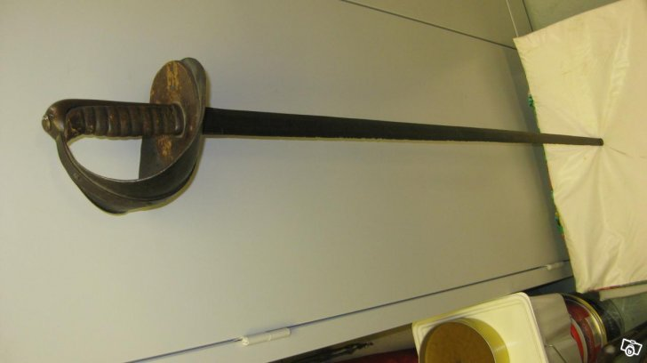 Swedish 19th cent fencing sabre