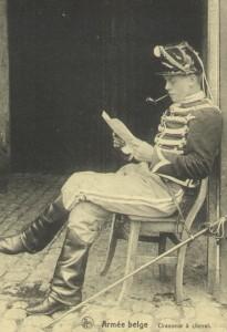 Belgian chasseur à Cheval Source: La belle époque de la cavalérie Belge, p. 66.