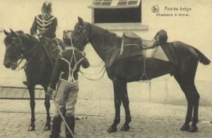 Belgian Cavalrists Source: La Belle époque de la cavalerie Belge, p.66