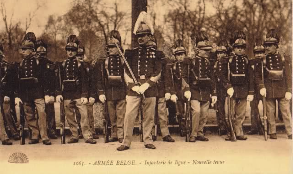 Belgian officer Source: collection J. de Faudeur