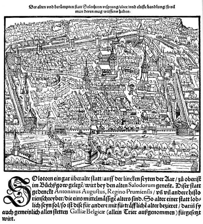 Solothurn in 1548