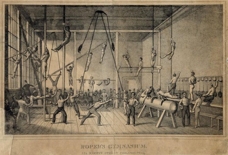 Roper's Gymnasium, Philadelphia 1834