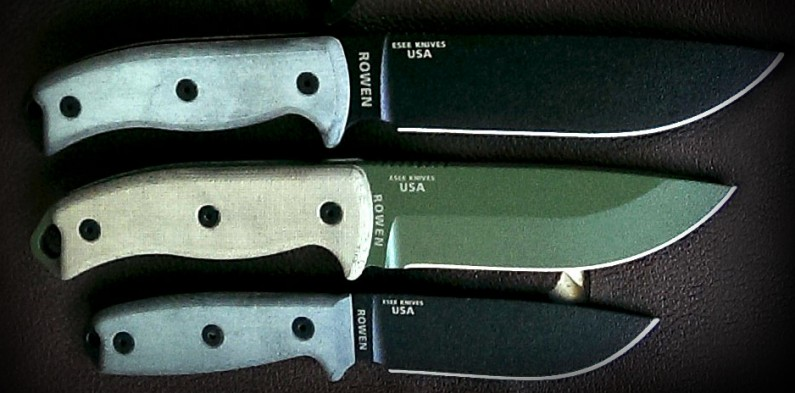 ESEE-4-5-6-collected-01 (Review: ESEE-4, ESEE-5 & ESEE-6 knives)