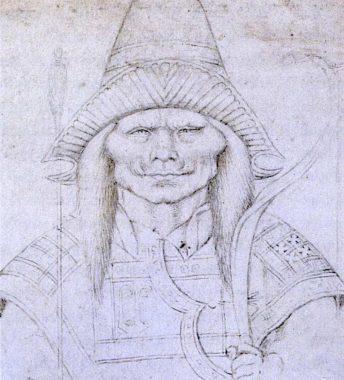 A Turk mercenary in Byzantine service, circa 1436