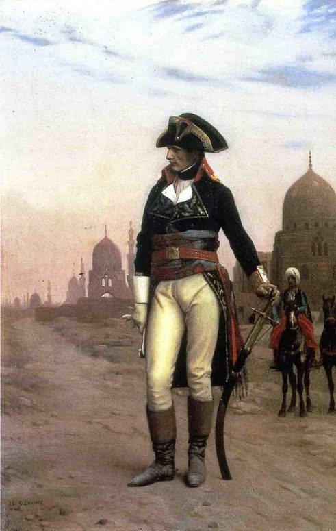 Napoleon in Egypt by Jean-Leon Gerome (1868, Princeton University Art Museum)