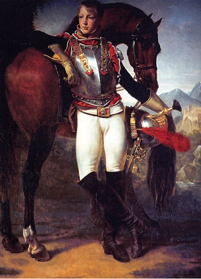 Portrait of Second Lieutenant Charles Legrand by Antoine Jean Gros  (1810, Los Angeles County Museum of Art)