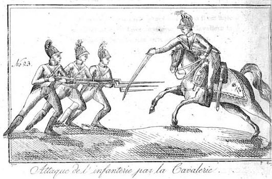 de Saint Martin: L 'art de faire des armes réduit à ses vrais principes,  L'art de l'espadon (1804), plate 23.