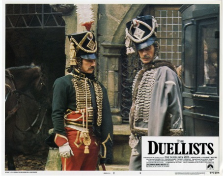 Harvey Keitel and Keith Carradine in The Duellists (Ridley Scott, 1977), both of them with cadenettes. Source: https://www.filmaffinity.com/en/movieimage.php?imageId=460347979 (retrieved 19-04-2015)