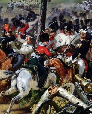 horace vernet battle of hanau 1814